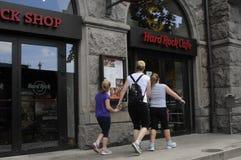 AMERICAN CHAIN HARD ROCK CAFE RESTAURANT Stock Photos