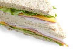 American cheese sandwich Stock Photo