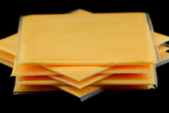 American Cheese Royalty Free Stock Photo