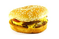 American Cheeseburger Stock Images
