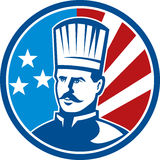 American Chef cook baker Royalty Free Stock Images