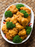 American chinese takeout general tso chicken Stock Photography