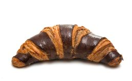 American chocolate croissant isolated Stock Image