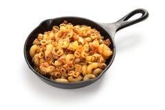 American chop suey, american goulash Royalty Free Stock Images