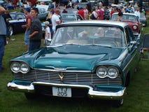 American Chrome cars Stock Photos