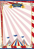American circus grunge Royalty Free Stock Image
