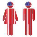 American citizen Stock Image