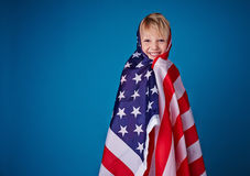 American citizen Stock Photography