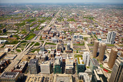American city landscape Royalty Free Stock Photography