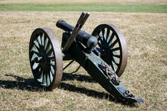 American Civil War Cannon Stock Photography
