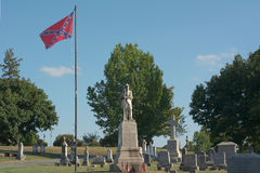 American Civil War Cemetery Royalty Free Stock Photos