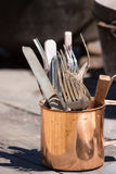 American civil war cutlery Stock Images