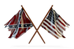 American civil war and merorial day concept Royalty Free Stock Image