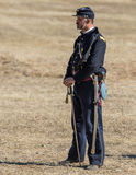 American Civil War Officer Stock Photography