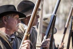 American civil war reenactment Royalty Free Stock Photo