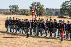 American Civil War Reenactors Royalty Free Stock Photo