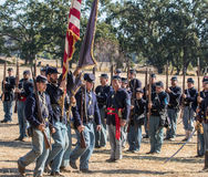 American Civil War Reenactors Royalty Free Stock Photography