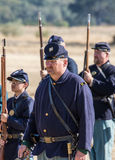 American Civil War Reenactors Stock Photos