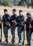 American Civil War Reenactors Royalty Free Stock Image