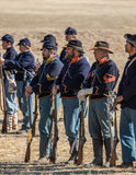American Civil War Reenactors Stock Images