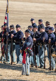 American Civil War Reenactors Royalty Free Stock Photos