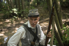 American Civil War Soldier Royalty Free Stock Photos