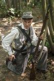 American Civil War Soldier Stock Photo