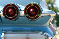 American Classic Car. USA oldtimer taillight Stock Photo
