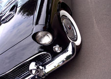 American Classic Car - Closeup of front Stock Image