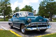 American classic car in cuba Stock Photo