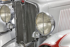American Classic Car, Front View Royalty Free Stock Images