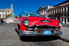 American classic car in Havana Stock Photo