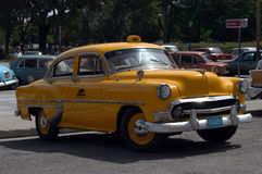 American classic car in Cuba Stock Photo