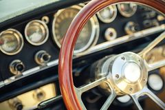 American classic car Royalty Free Stock Photography