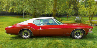 Vintage American Classic Car, Buick Riviera Stock Images