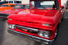 American Classic Cars, Front View Royalty Free Stock Images