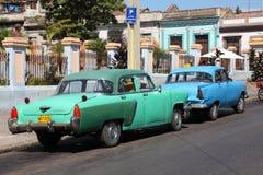 American classic cars Stock Photo