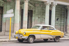 American classic in Havana street. Stock Photography