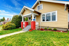 American classic house esterior Royalty Free Stock Images