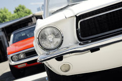 American classic musscle car royalty free stock images