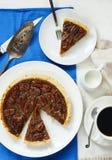 American classic pecan pie stock photo
