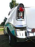 American Classic - Tail Light. A 1950s classic american car parked on a power meet i Sweden Stock Photos