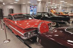 American classics car collection Stock Image