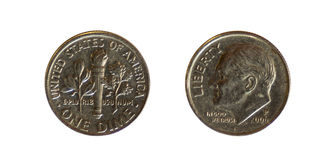 American coin Royalty Free Stock Image