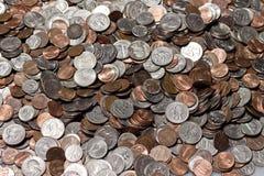 American Coins Royalty Free Stock Photos