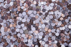 American Coins Royalty Free Stock Photography