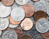 American Coins Stock Image