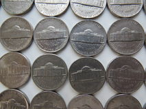 American Coins Royalty Free Stock Image