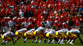 American College football Stock Images