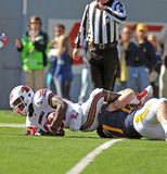 American College football - tackle Royalty Free Stock Image